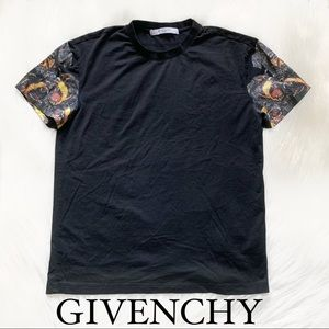 Rare Givenchy Rottweiler Solid Black T-Shirt